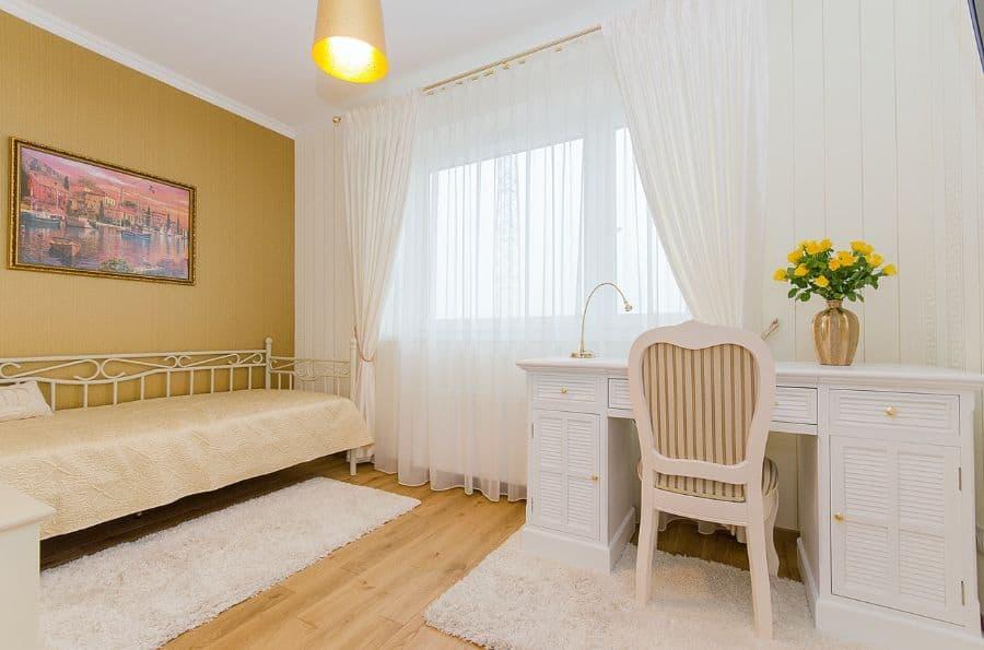 vintage yellow bedroom ideas 1