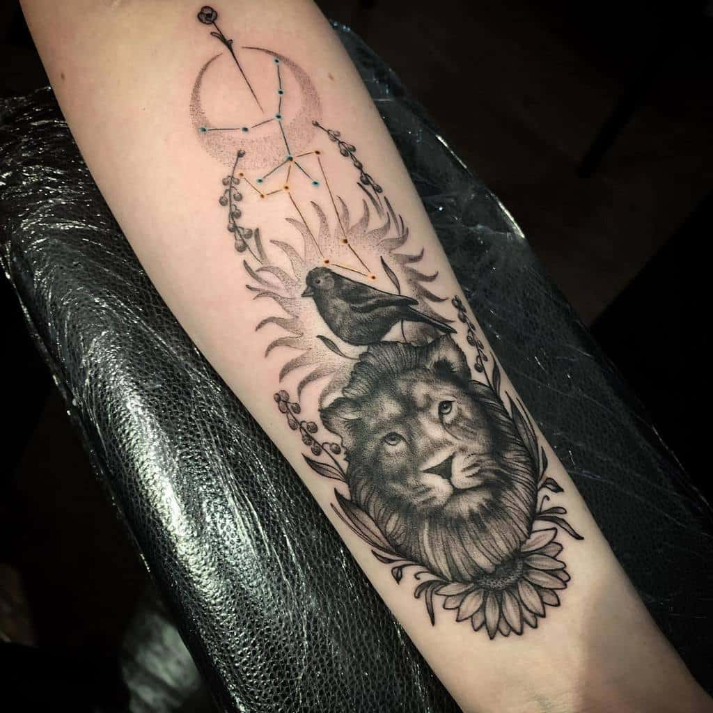 virgo-leo-constellation-tattoo-ivydoesartstuff