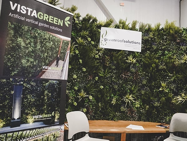 Vistgreen Artifical Vertical Garden Solutions 2019 Nahb Show Las Vegas