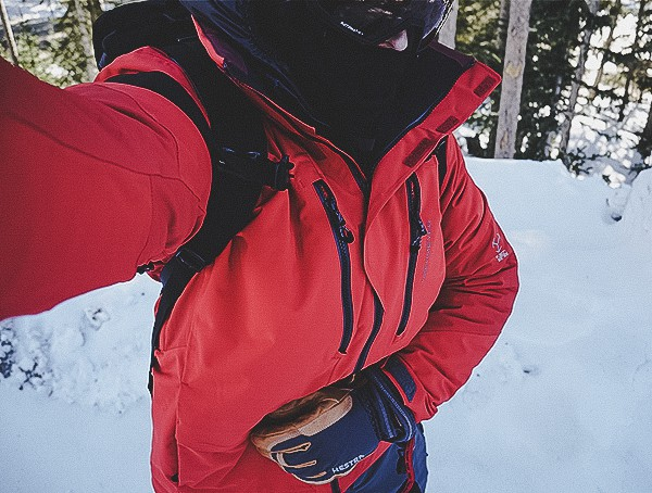 Volcanic Red Obermeyer Kodiak Mens Ski Jacket Review