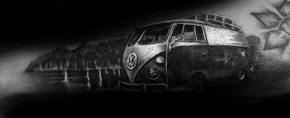 50 Volkswagen VW Tattoos For Men – Automotive Design Ideas