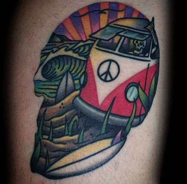 Volkswagen Wv Guys Tattoos