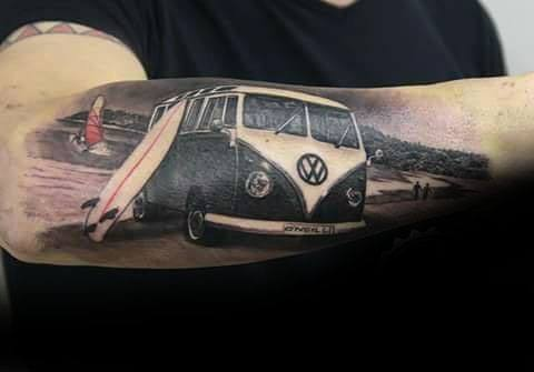 Volkswagen Wv Tattoo Design Ideas For Males