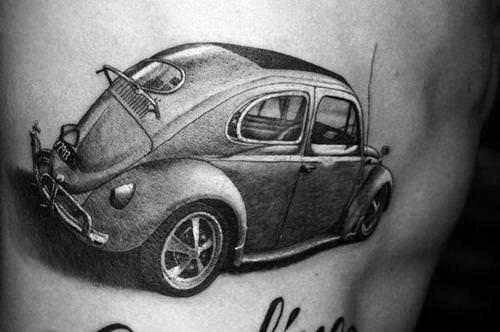 Volkswagen Wv Tattoo Ideas On Guys