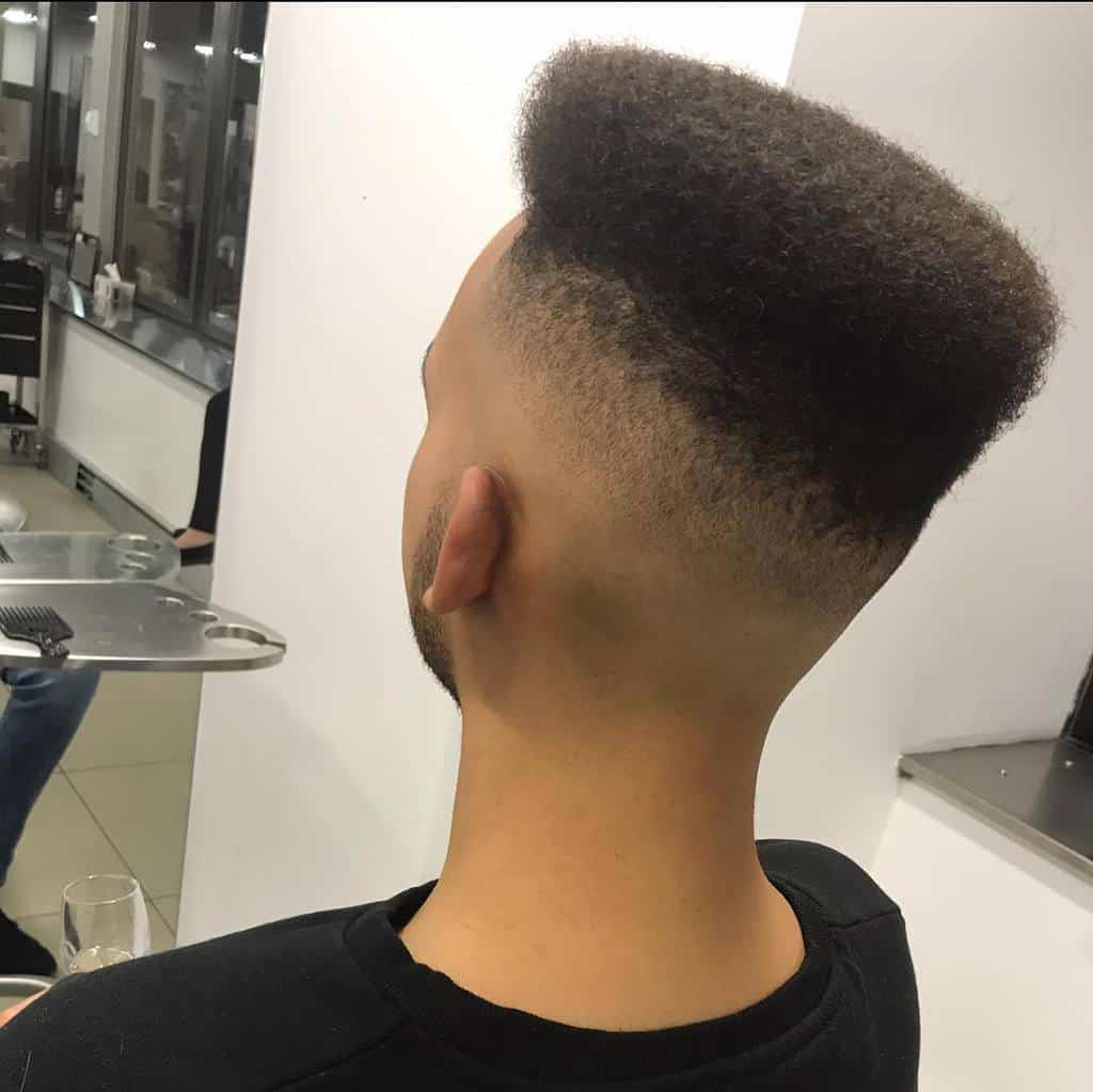 Voluptuous Flat Top Fade. Great For Black Guys Who Need A Neat And Clean Style