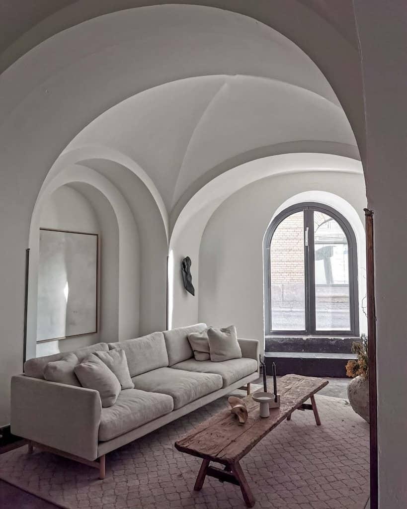 Wabi Sabi Minimalist Living Room Mouchecollective
