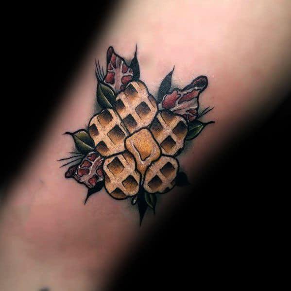 Waffle Male Tattoos