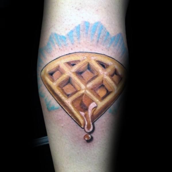 Waffle Mens Tattoos