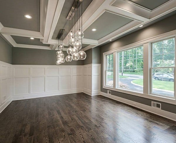 60 Wainscoting Ideas - Unique Millwork Wall Covering And ...