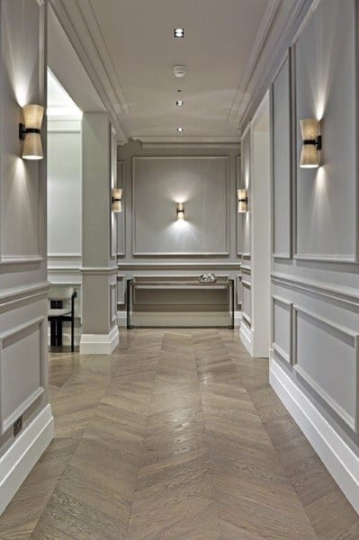 60 Wainscoting Ideas - Unique Millwork Wall Covering And Paneling ...