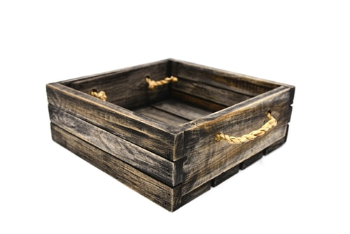 Wald Imports Wood Crates With Galvanized Metal Trim Apartment Decoration Design Ideas For Guys