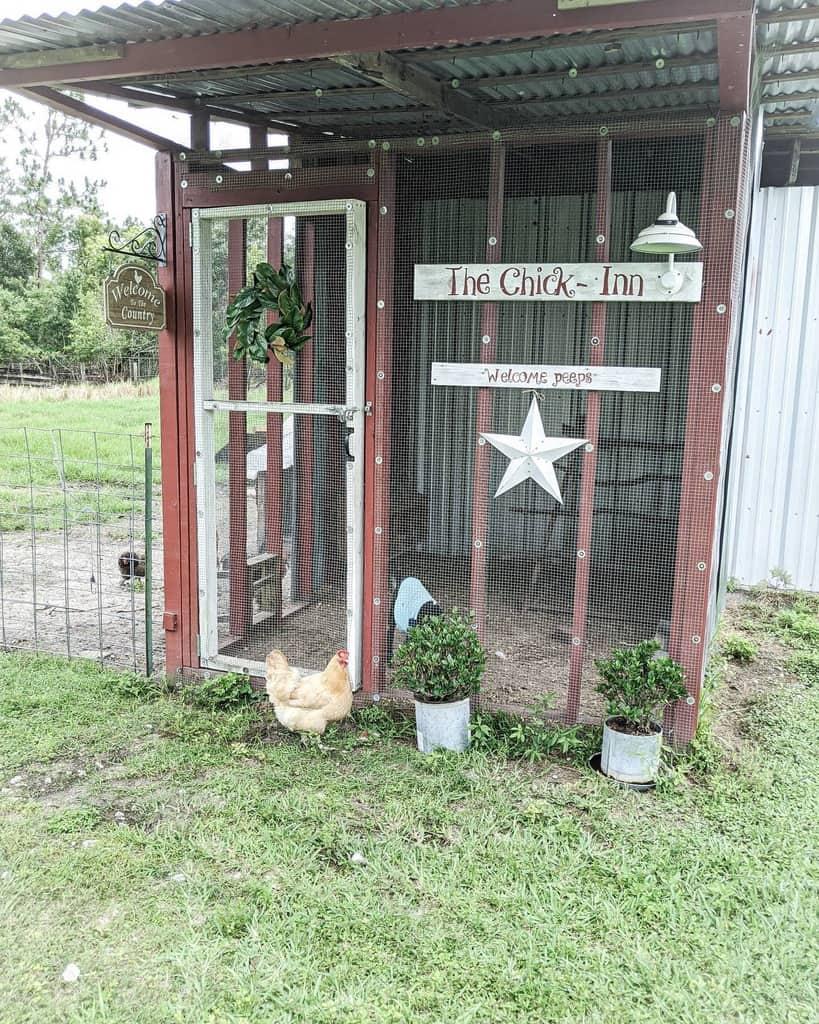 walk in chicken coop ideas trendifarmgirl