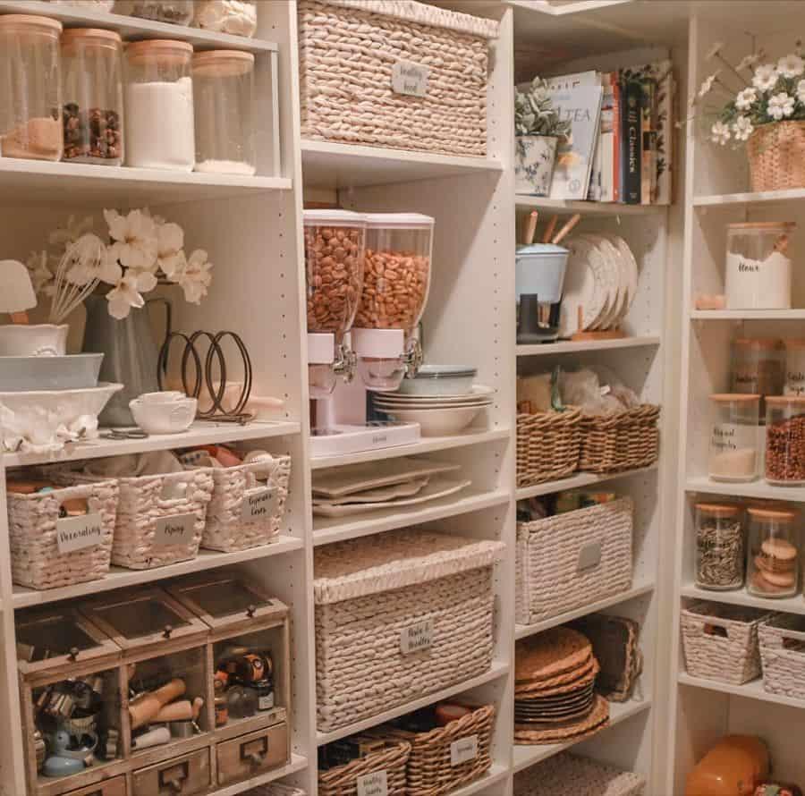 Walk In Pantry Shelving Ideas