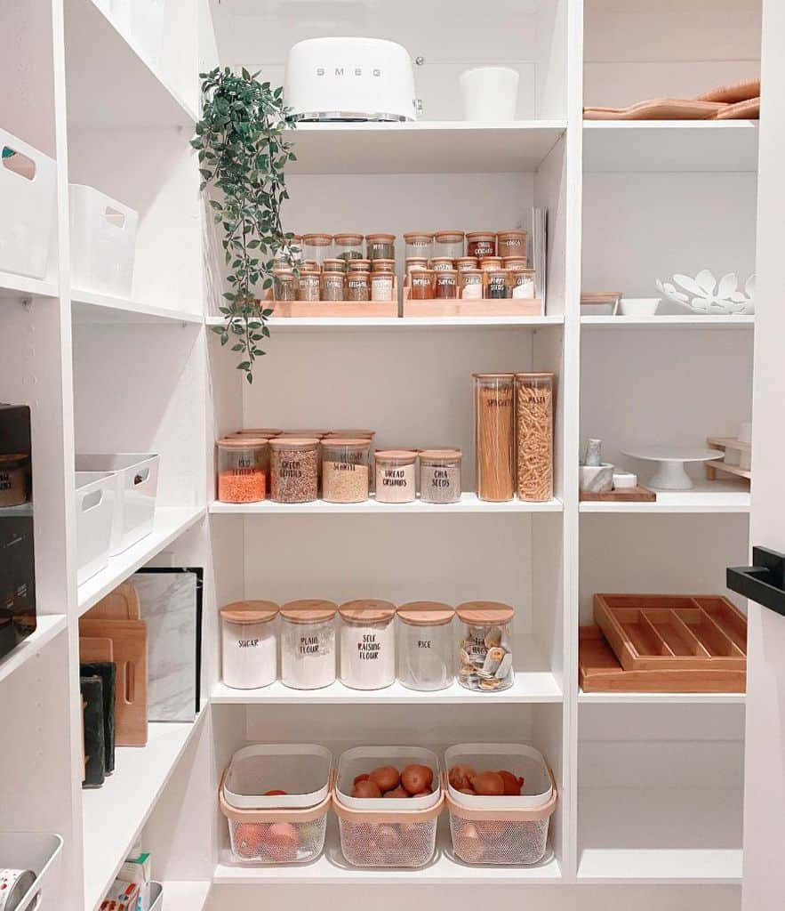 The Top 49 Pantry Shelving Ideas – Home Organization Ideas