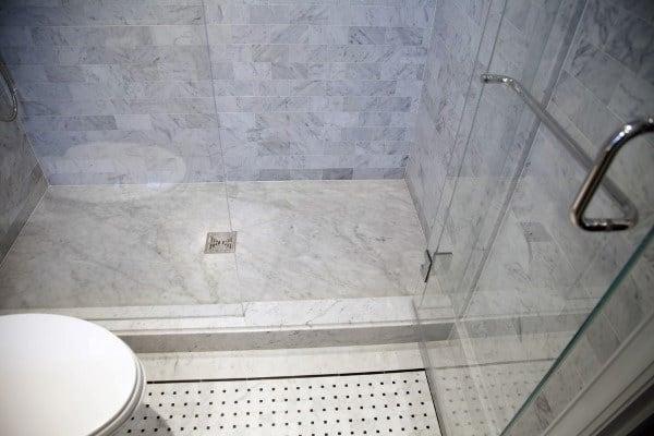 Walk In Shower Luxury Bathroom Floor