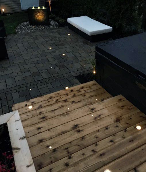 Walkway Deck Lighting Home Ideas