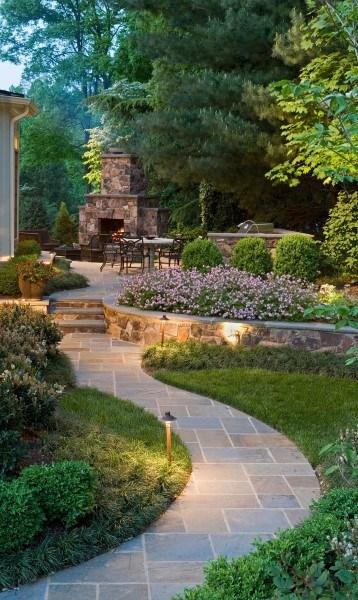 Walkway Ideas For Backyard