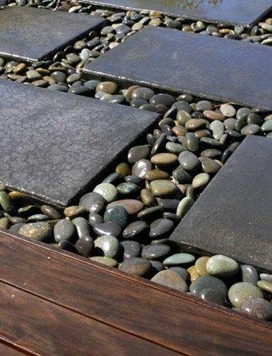Walkway Ideas River Rock Landscaping