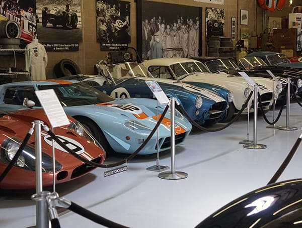 Walkway Inside Of Shelby American Collection