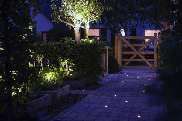 Walkway Landscape Lighting Exterior Ideas