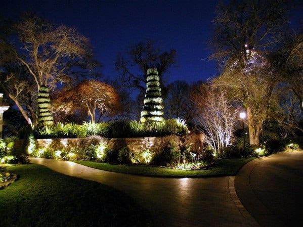 Walkway Landscaping Lighting Ideas