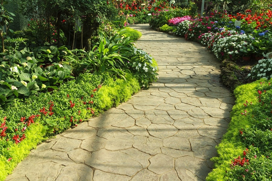Paver Professional Landscaped Walkway Ideas