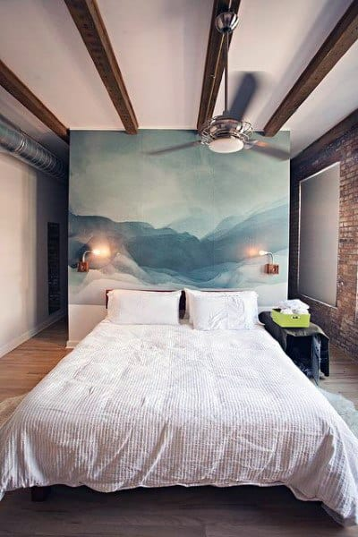 Wall Art Painting Headboards For Beds Ideas