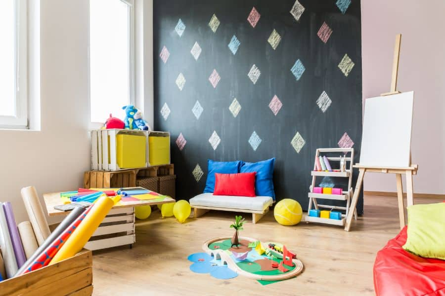 Wall Decal Art Playroom Ideas 1
