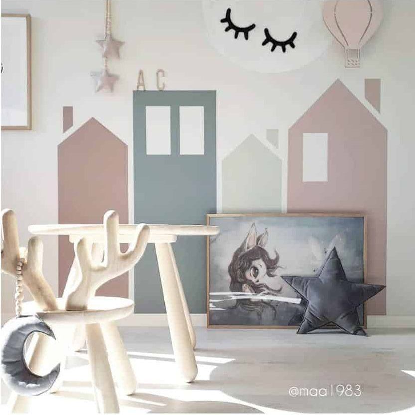 Wall Decal Art Playroom Ideas Maa1983