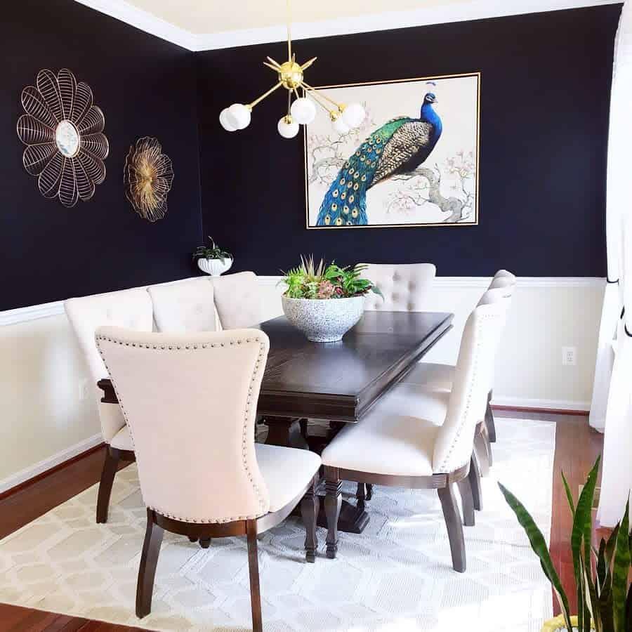 wall decor dining room ideas georginashomedecor