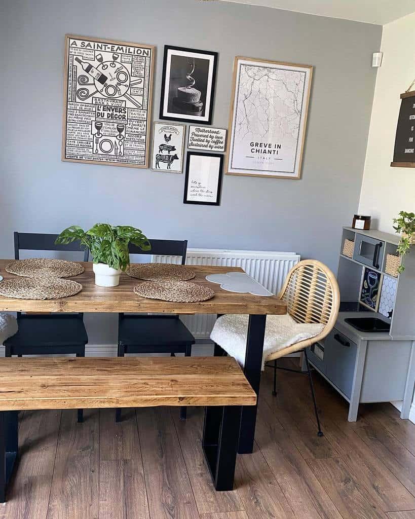 wall decor dining room ideas thegosfordmama