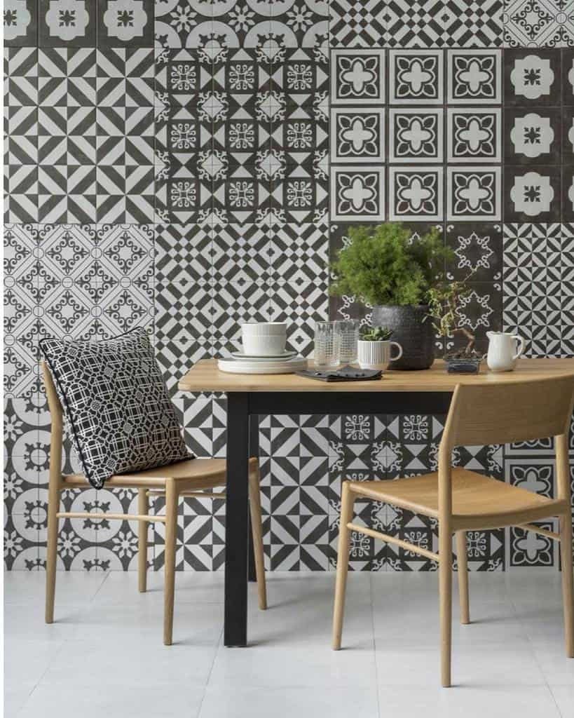 wall decor dining room ideas ttileceramics