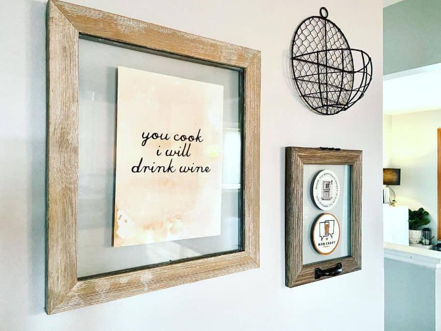 Wall Decor Modern Farmhouse Decor Life.styled.by.lindsay