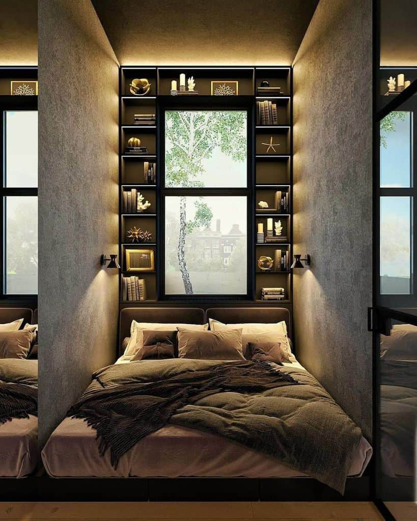 Wall Hangers And Shelf Bedroom Storage Ideas Vladimirkonovalov