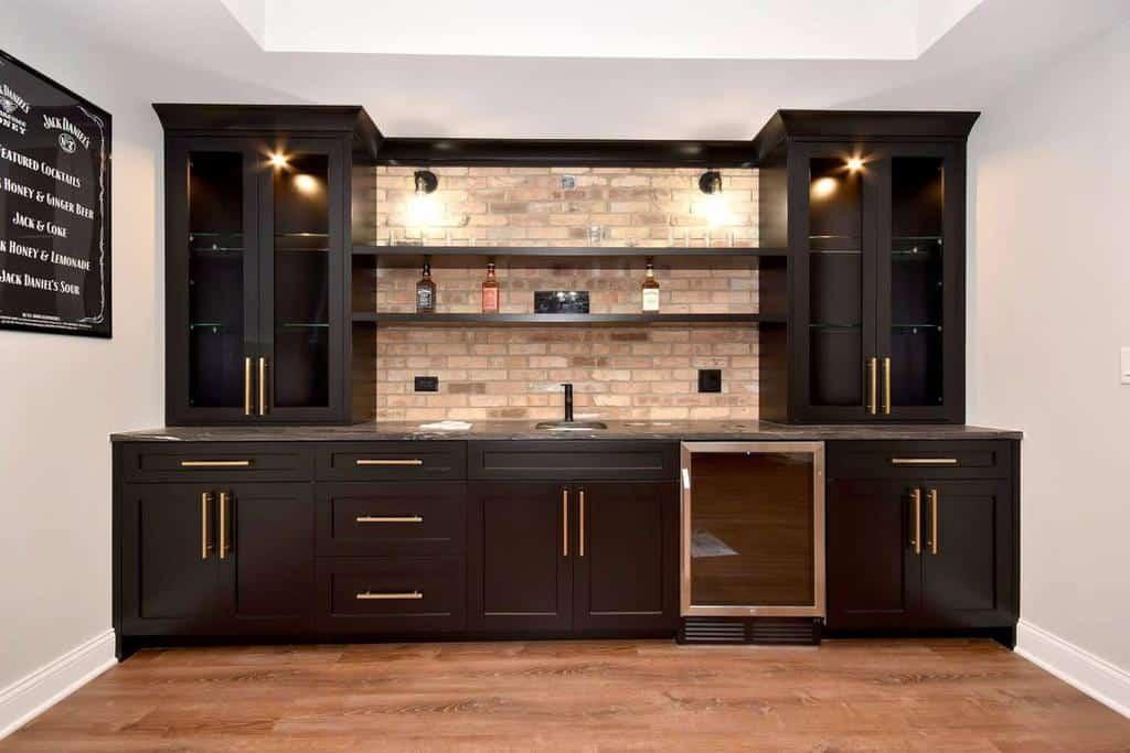 wall liquor cabinet ideas monteleonehomes