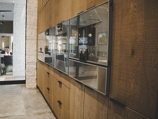 Wall Mounted Ovens And Cabinets 2019 New American Remodel.