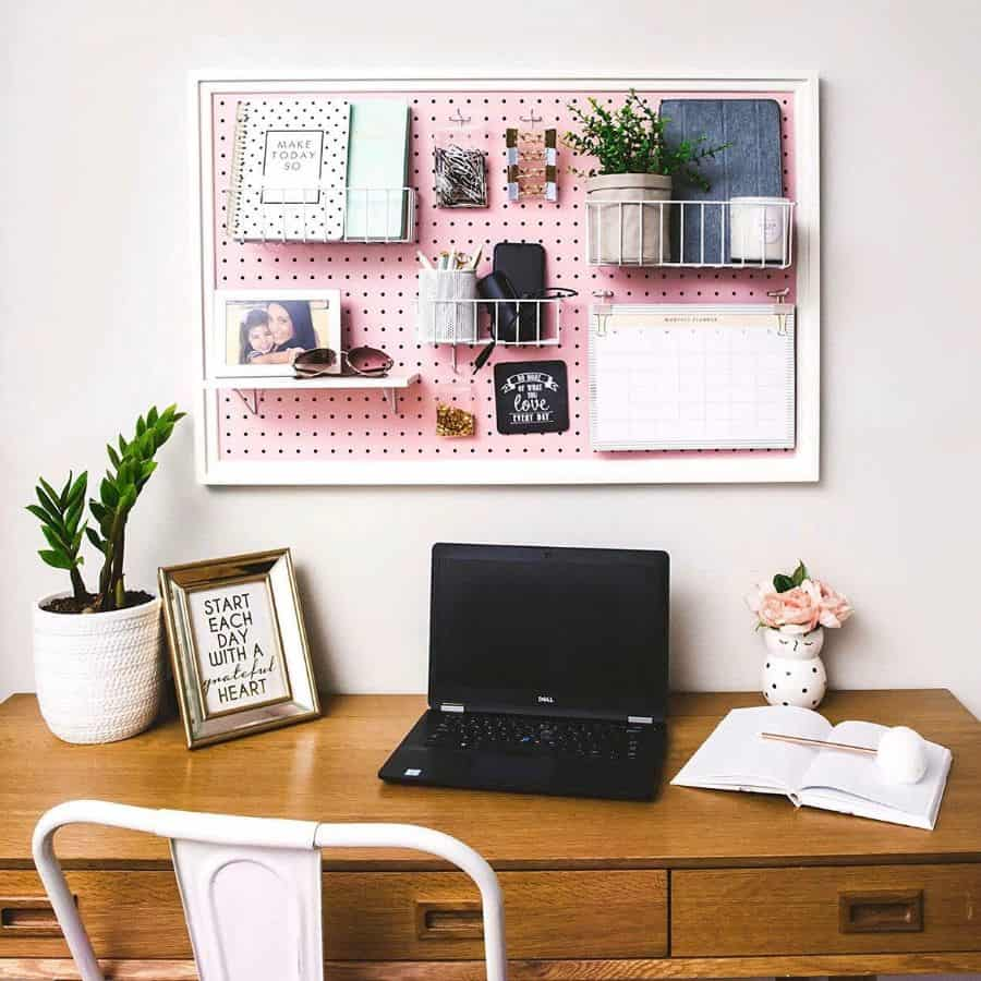 wall office storage ideas pinpegandhome