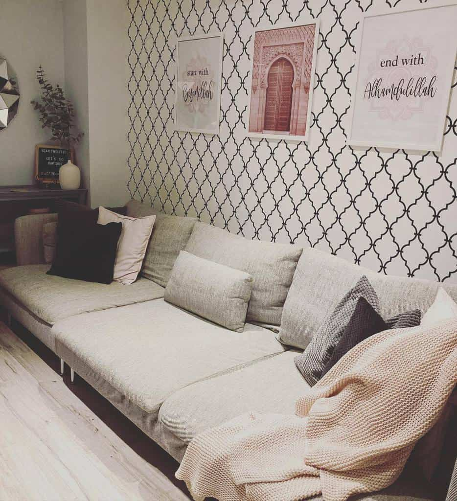 wall paper basement wall ideas thisisus_home