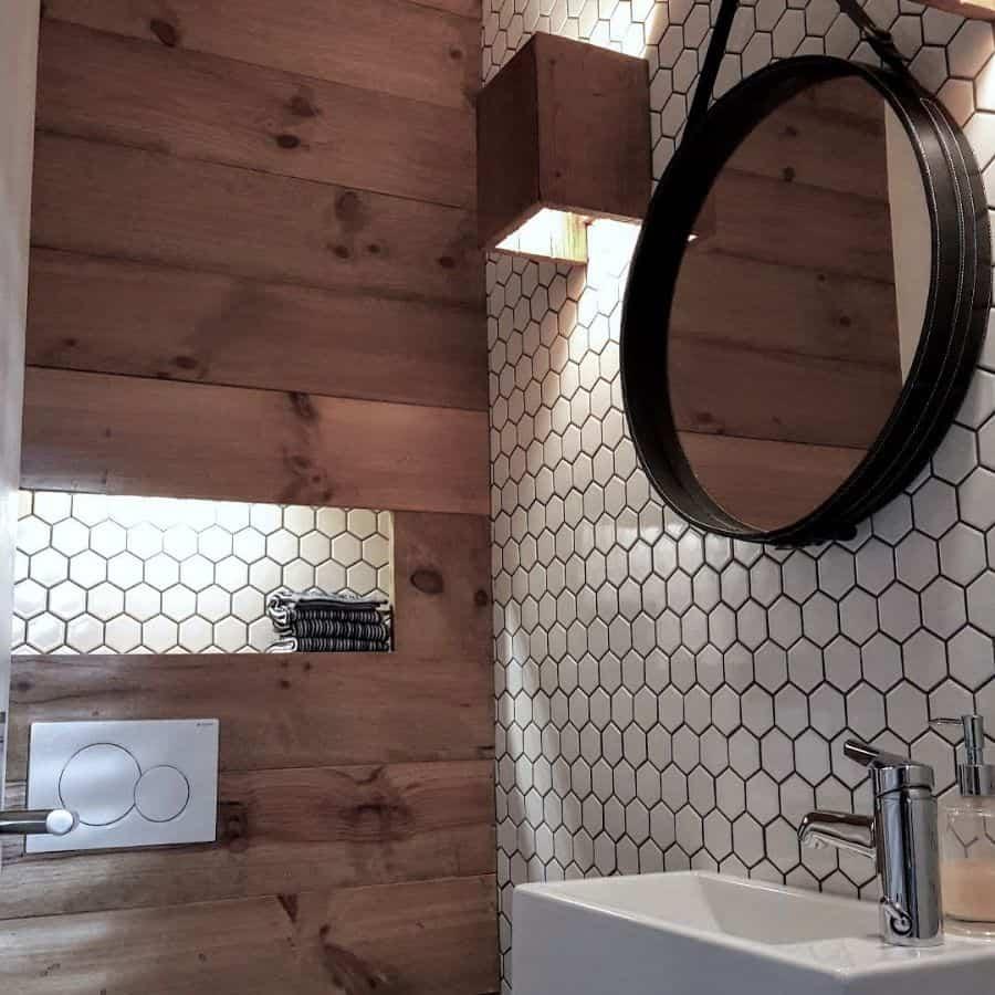 Wall Powder Room Ideas Swiss Lake Love