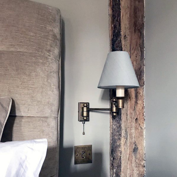 Wall Sconce Brass Cool Bedroom Lighting
