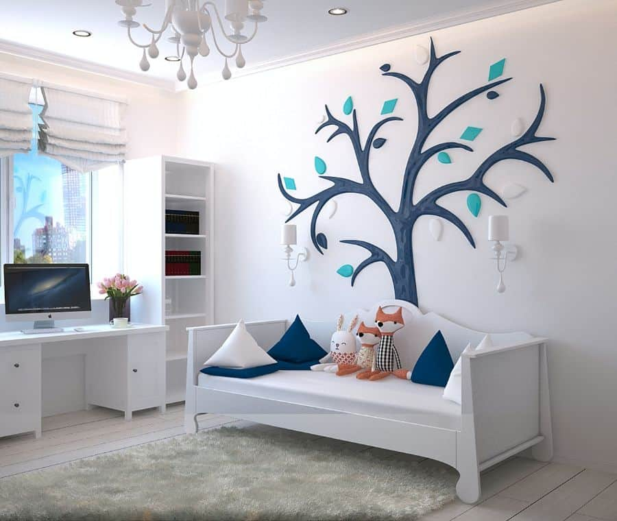 Wallpaper Decal And Stickers Bedroom Wall Decor Ideas