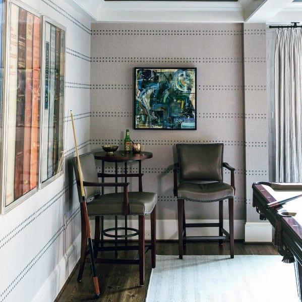 Wallpaper Ideas For Billiards Room
