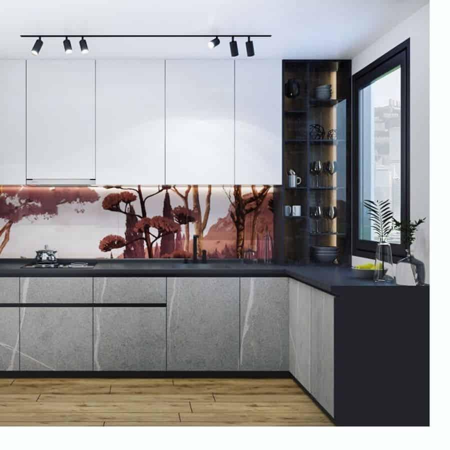 wallpaper kitchen wall decor ideas atg_design
