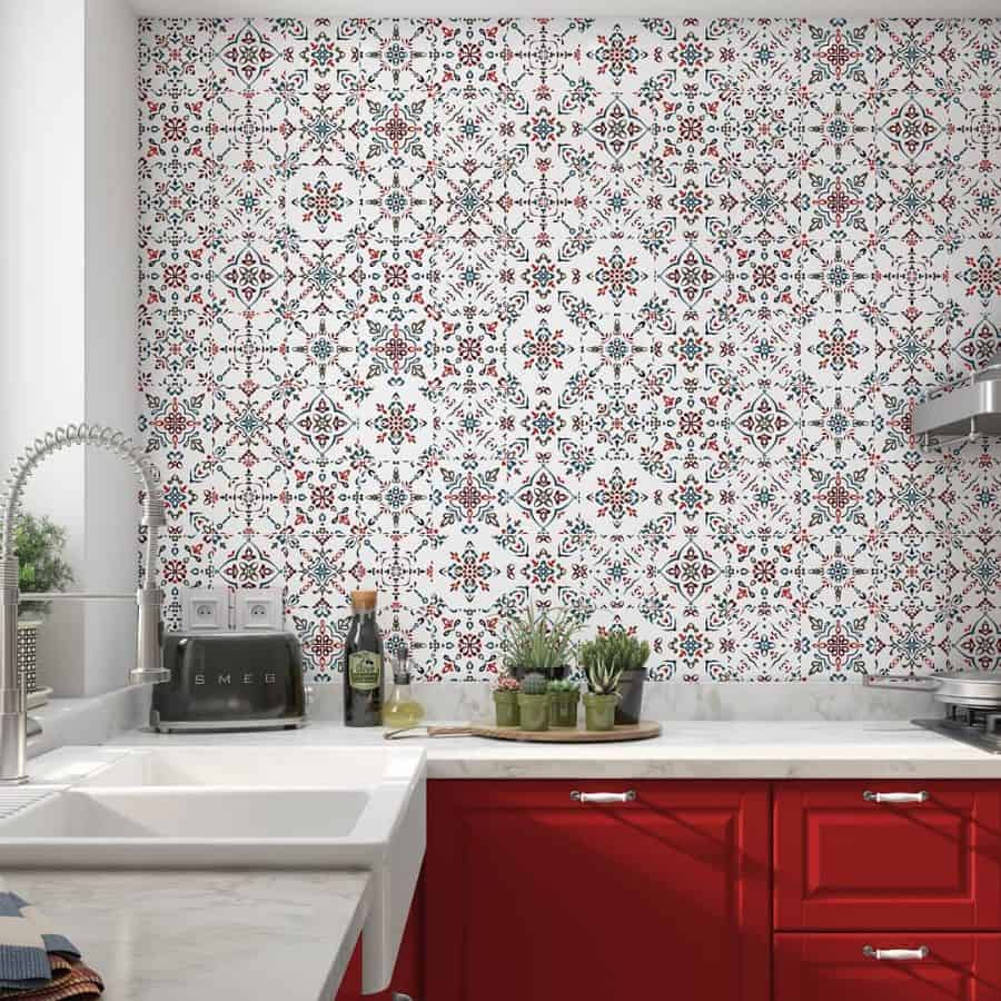 wallpaper kitchen wall decor ideas deco_paperie_wallpapers