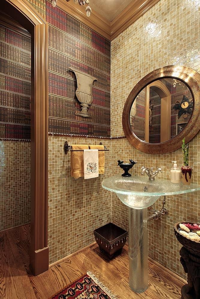 Wallpaper Powder Room Ideas 2