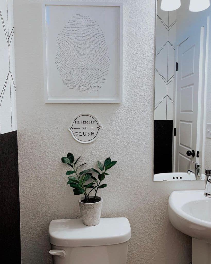 Wallpaper Powder Room Ideas Casacordova