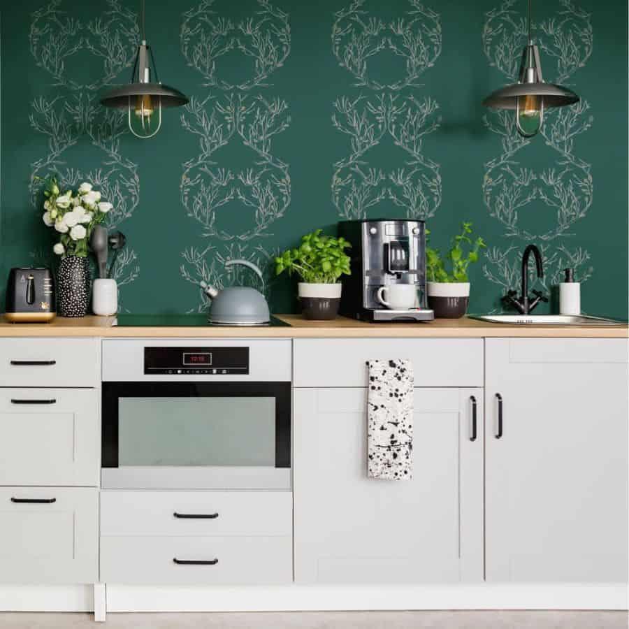 wallpapper kitchen decor ideas 2 annikareedstudio