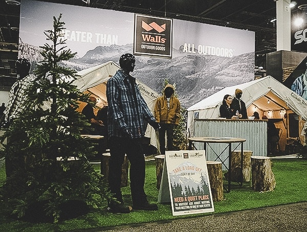 Walls Camp Shot Show 2019 Booth