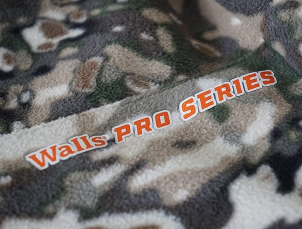 Walls Pro Series Orange And Camo Pant
