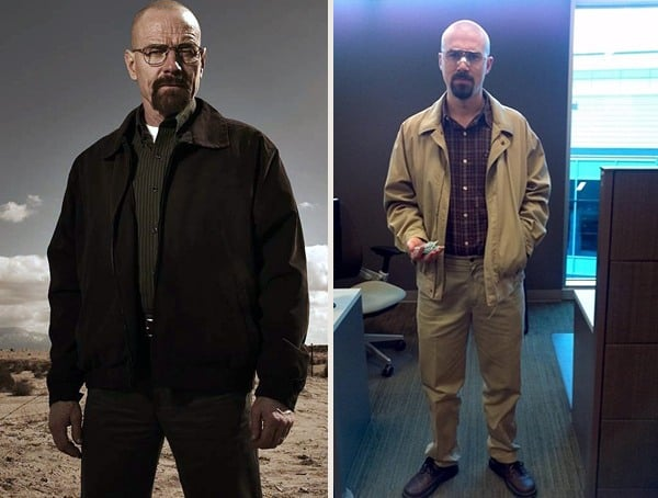 Walter White Breaking Bad Best Halloween Costume Ideas For Men
